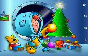 El jingle navideño de Cadena 3: Del satélite llamando.