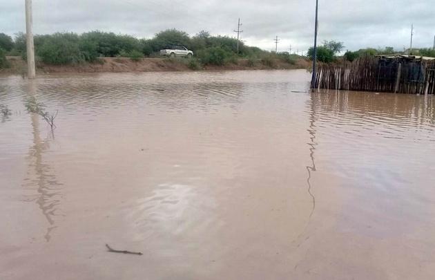 El Río Pilcomayo alcanzó este domingo su pico máximo (Foto de archivo)