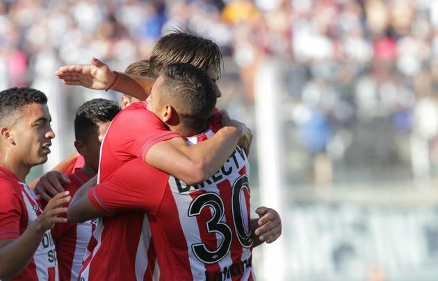 Melano abrió el marcador para Estudiantes.
