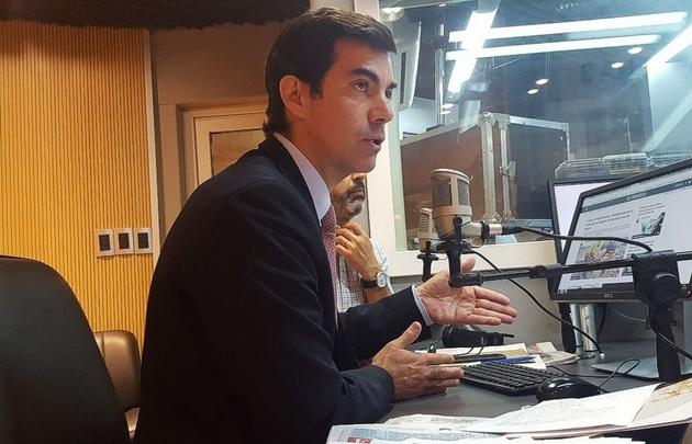 Juan Manuel Urtubey, gobernador de Salta, en Juntos.