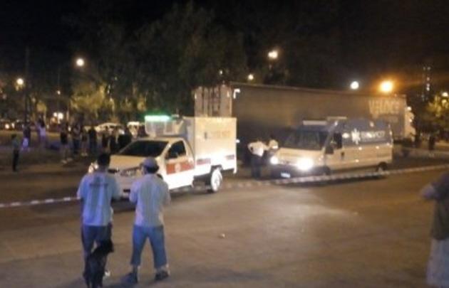 El trágico accidente se produjo en Rondeau y Circunvalación (Foto: La Capital).