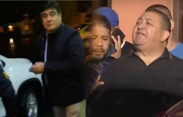 Detención de Zannini y D'Elía.