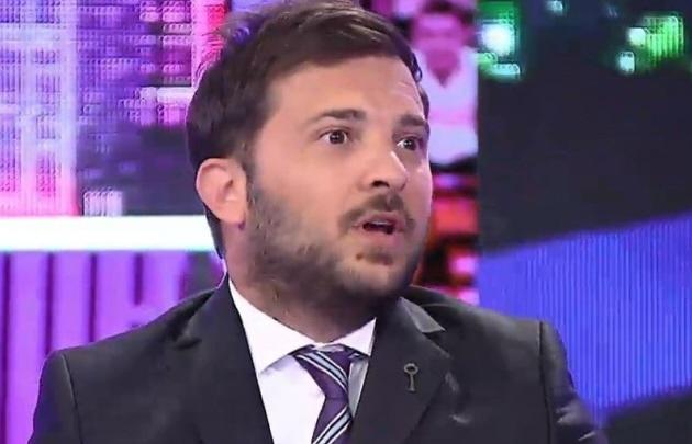 Diego Brancatelli cruzó al Gobierno por el pedido de desafuero de Cristina Kirchner.