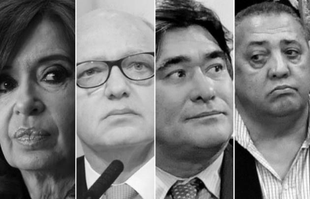 El juez dictó hoy el procesamiento de Cristina Kirchner,entre otros detenidos.