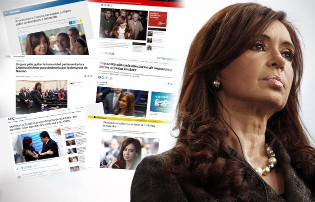 The Washington Post, CNN, Le Monde, entre otros reflejaron la noticia.
