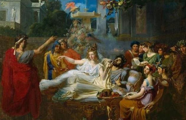 La espada de Damocles es una leyenda griega del siglo IV antes de Cristo.