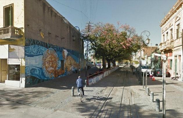 El hecho ocurrió en Garibaldi y Olavarría a pocos metros de Caminito.