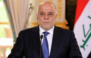 Haidar al Abadi realizó el anuncio ante la prensa.