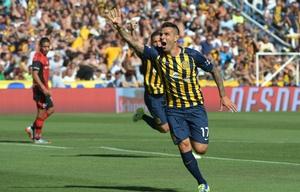 El chaqueño Germán Herrera anotó el gol del triunfo del ''Canalla''.
