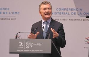 Macri inauguró la XI Conferencia Ministerial de la OMC.