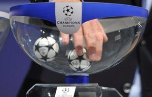 Sorteo Champions.