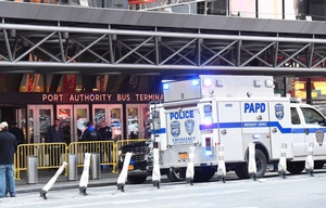 Explosión en el Port Authority Bus Terminal de Nueva York. (Foto New York Post)