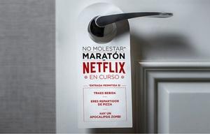 Maratones en Netflix, una costumbre también argentina.