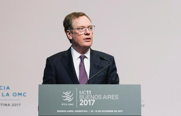 Robert Lighthizer, representante comercial de Estados Unidos.