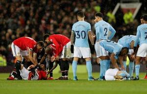 El partido no terminó bien para el defensor argentino. (Reuters)
