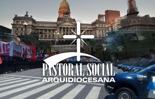 La Pastoral Social rechaza la reforma previsional.