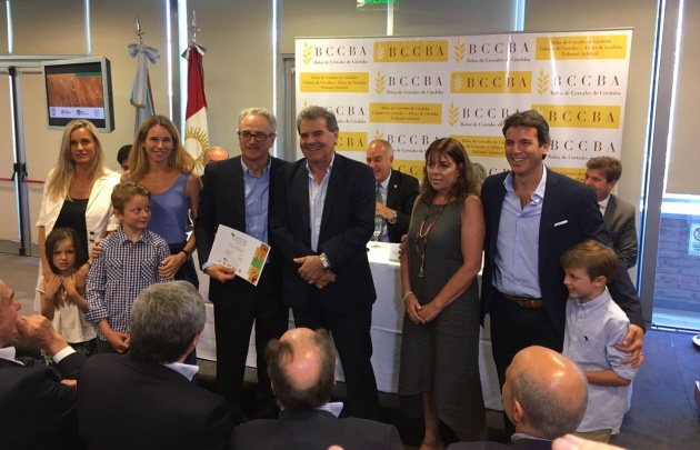 El Molino José Minetti compró el remate del Primer Lote de Trigo Cosecha 2017/18.