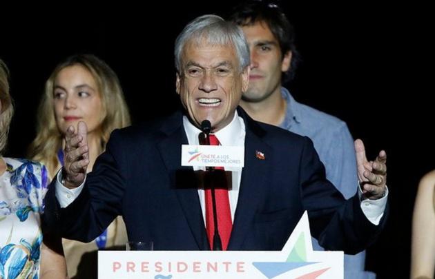 En su discurso Piñera habló de convivir con la gente de la araucanía.