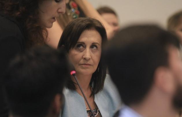 Mirta Tundis, en contra de la reforma que propone el gobierno macrista.