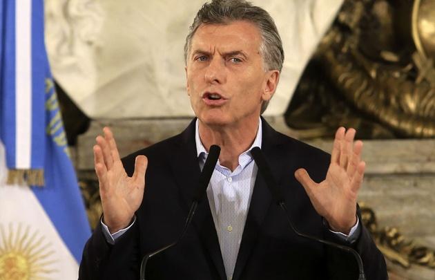 Conferencia de prensa de Mauricio Macri luego de la reforma previsional