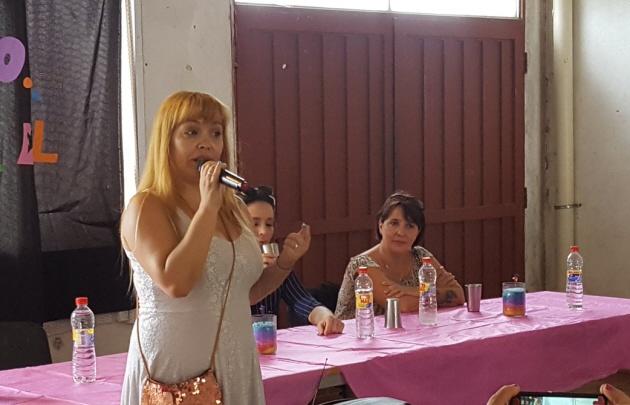Silvia Flores aseguró que no le interesa la política partidaria.