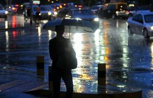 El aviso pronostica abundantes precipitaciones en cortos períodos.