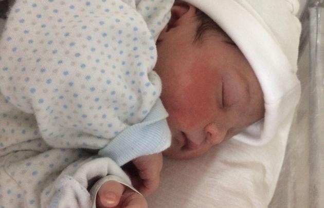 La primera beba del año en Mar del Plata se llama Xiomara
