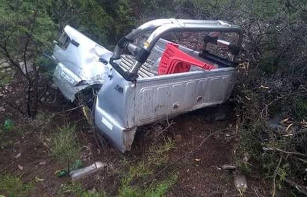 El accidente fue en el ingreso a la localidad de Sañogasta.