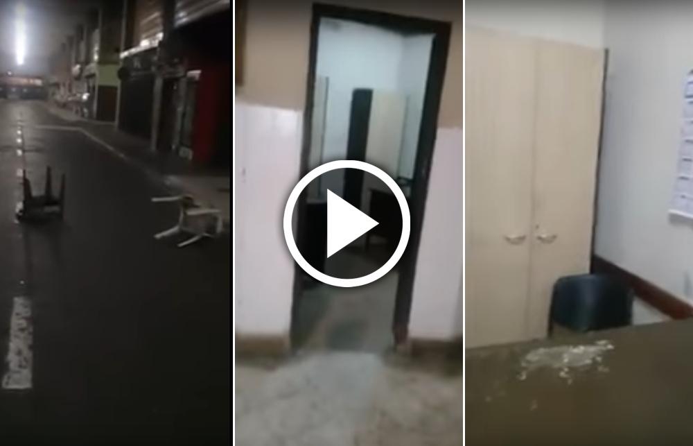 Filman Un Hecho Paranormal En Un Mercado De Tucum N