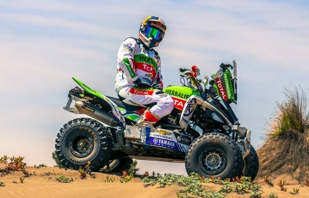 Casale aceleró en la primera etapa del Dakar.