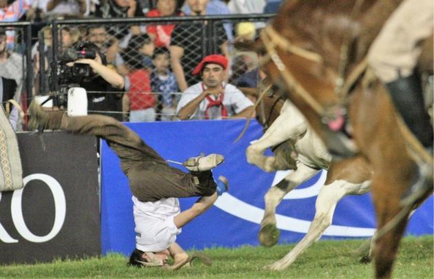 Guerra Rivera sufrió una conmoción leve por traumatismo de cráneo.