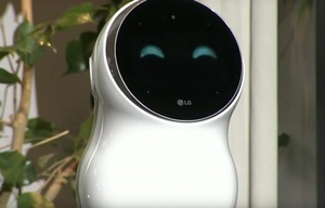 El robot obstinado de LG