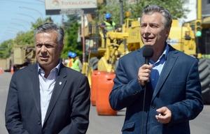 Días atrás, el Presidente estuvo en Mendoza.