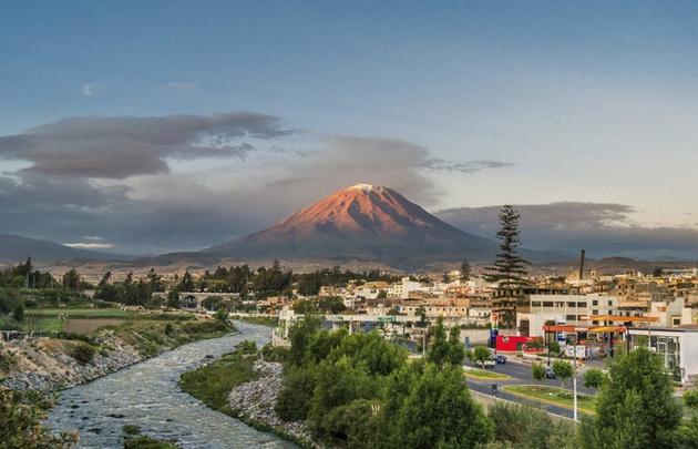 Arequipa tiene 525 volcanes, dos activos en este momento.