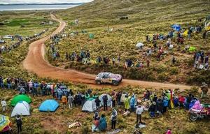 Zona de espectadores en Bolivia.