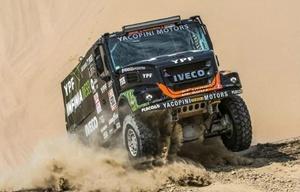 ''El Coyote'' sigue indomable y sueña con ganar el Dakar.