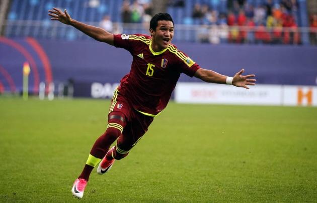 Sosa fue una de las figuras de su Selección durante el último Mundial Sub 20.