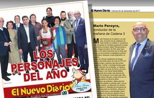 Mario Pereyra, reconocido en San Juan luego de 33 años ausente en la provincia.
