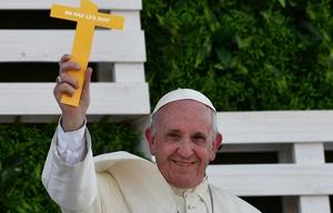 El Papa Francisco defendió al Obispo Barros.