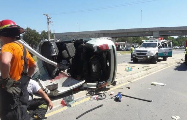 Sillitas para el auto salvaron la vida de dos niños