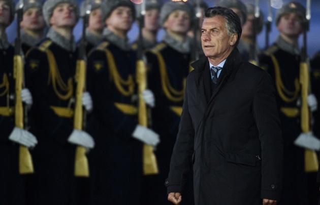 Mauricio Macri llegó a Moscú para su gira por Rusia, Suiza y Francia.