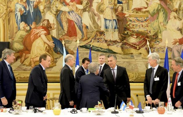 Macri se reunió con empresarios franceses.