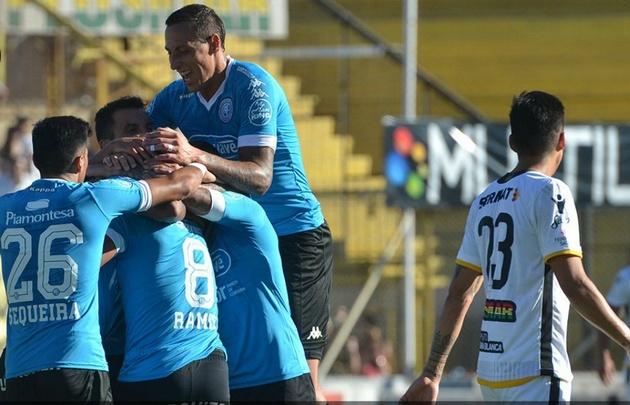 Belgrano logró un gran triunfo en Bahía Blanca.
