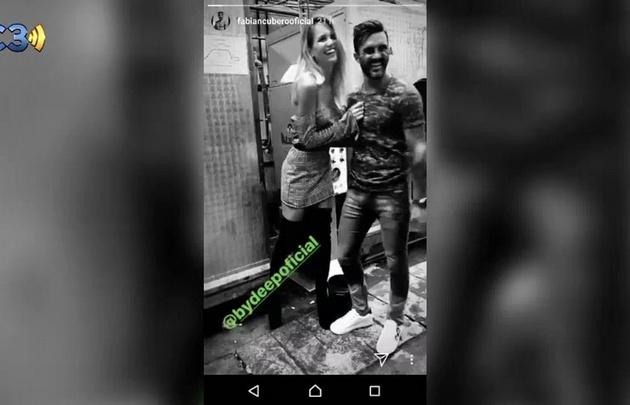 El provocativo video de Cubero con la ex de Facundo Moyano