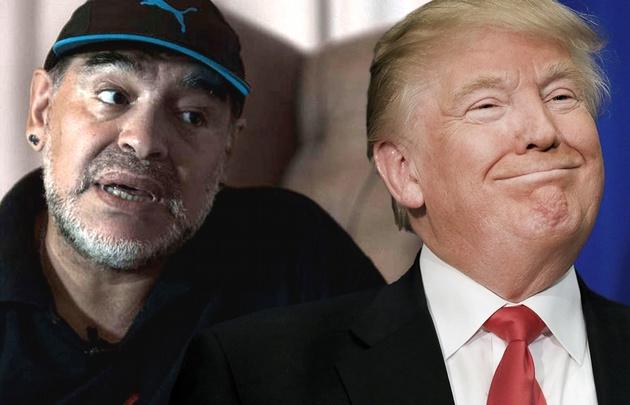 Maradona sigue sin poder conseguir la visa para ingresar a Estados Unidos.
