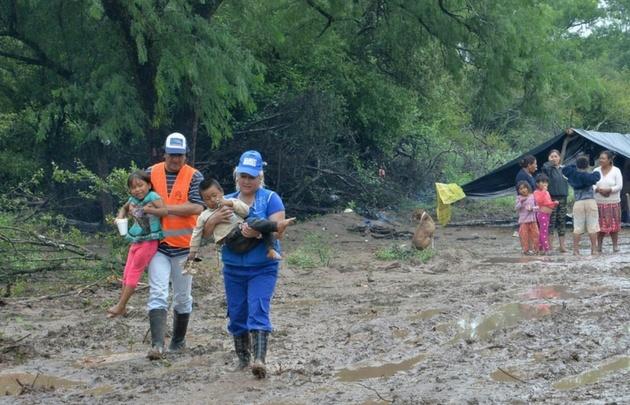 Se dispuso un operativo de evacuación en Salta.