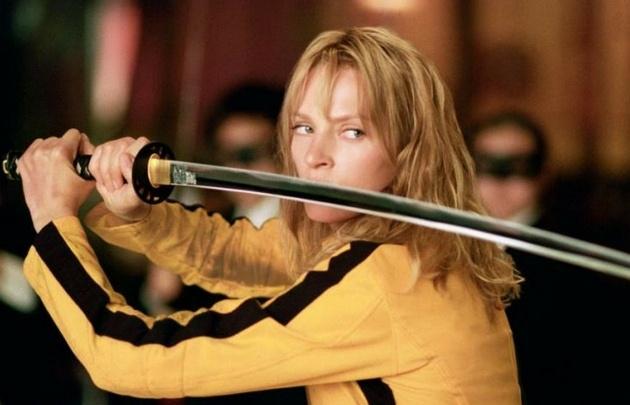 Uma Thurman, protagonista de Kill Bill.