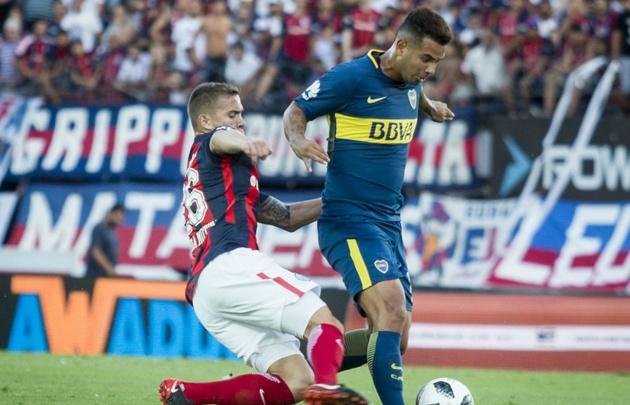 Boca y San Lorenzo no se sacaron ventajas.