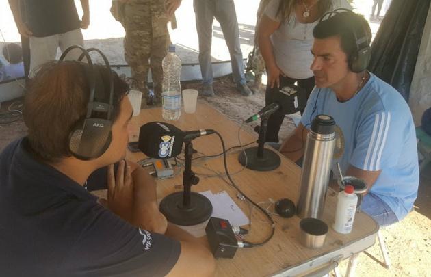 Urtubey, en diálogo exclusivo con Cadena 3 en Salta.
