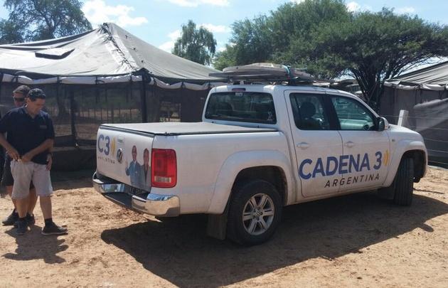 Cadena 3 cruzó la ruta 54 y llegó a Santa Victoria Este.